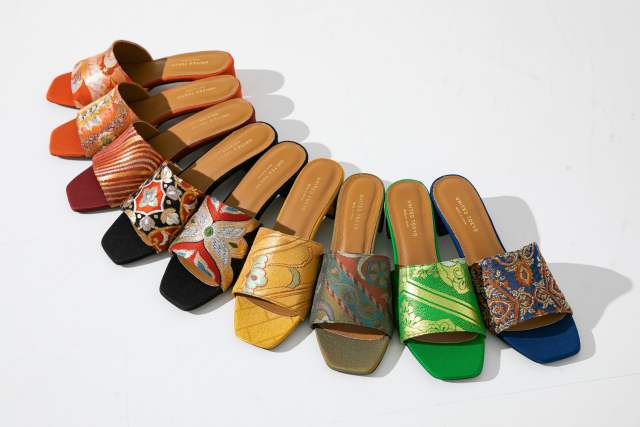 ¡Sandalias Obi clásicas diseñadas por una marca de moda japonesa y sostenible!