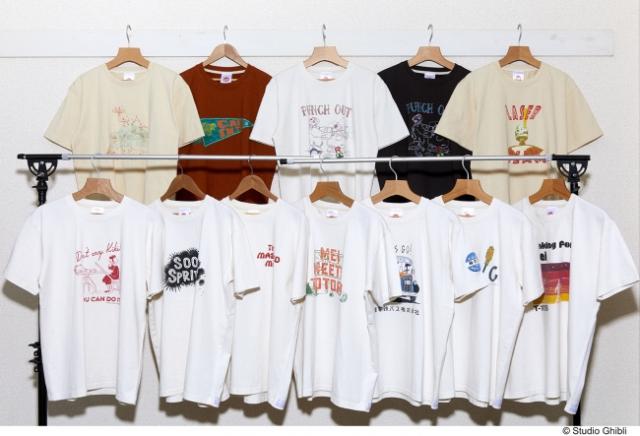 Geniales camisetas tipo American style de Ghibli