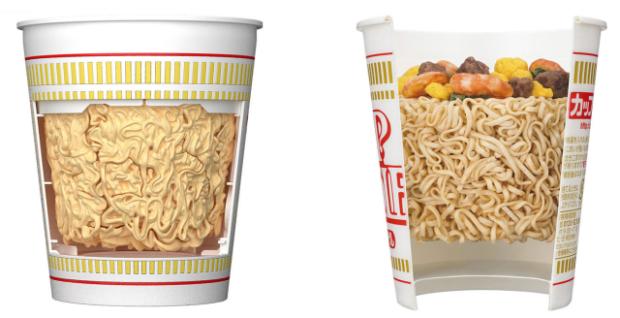 curiosidades japon  Model Kit de los Nissin Cup Noodles hecho por BANDAI