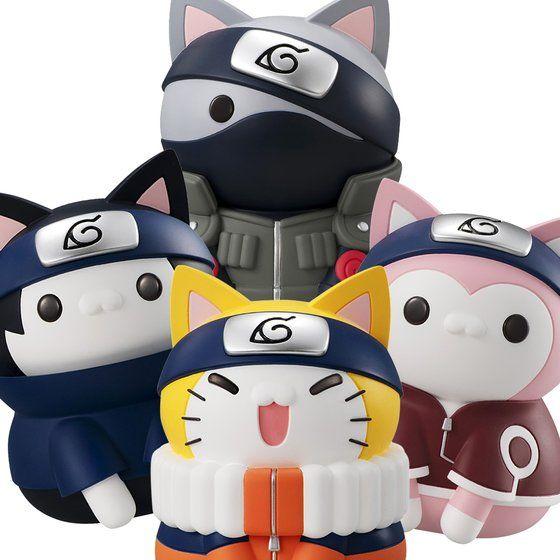 ¿Y si los personajes de Naruto fueran gatetes? ¿Sería Nyanruto?