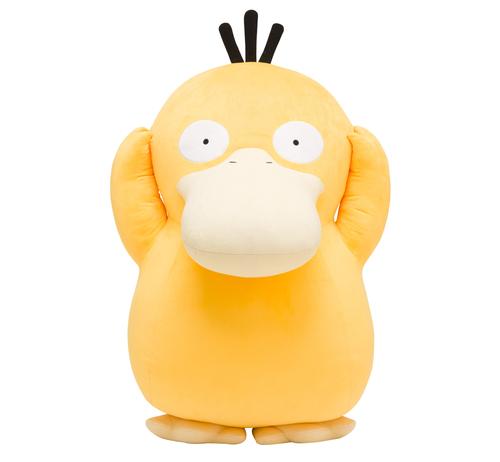 Ahora puedes comprar un Psyduck a tamaño gigante en los Pokemon Center!!