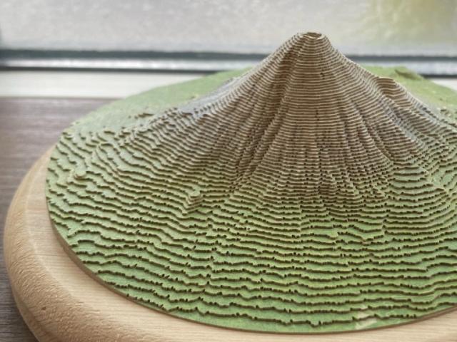 ¡Haz el Monte Fuji en casa con un recortable genialoso!