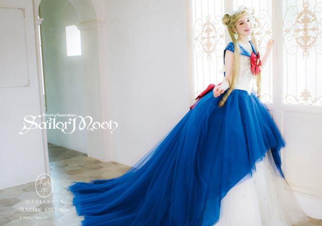 ¡Certificados de matrimonio y vestidos de boda de Sailor Moon!