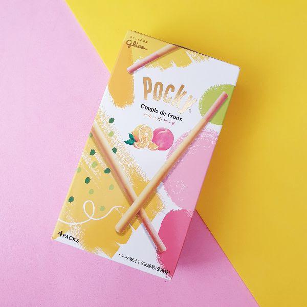 Pockys para verano en Japonshop! Novedad! Limón y Momo Melocotón!