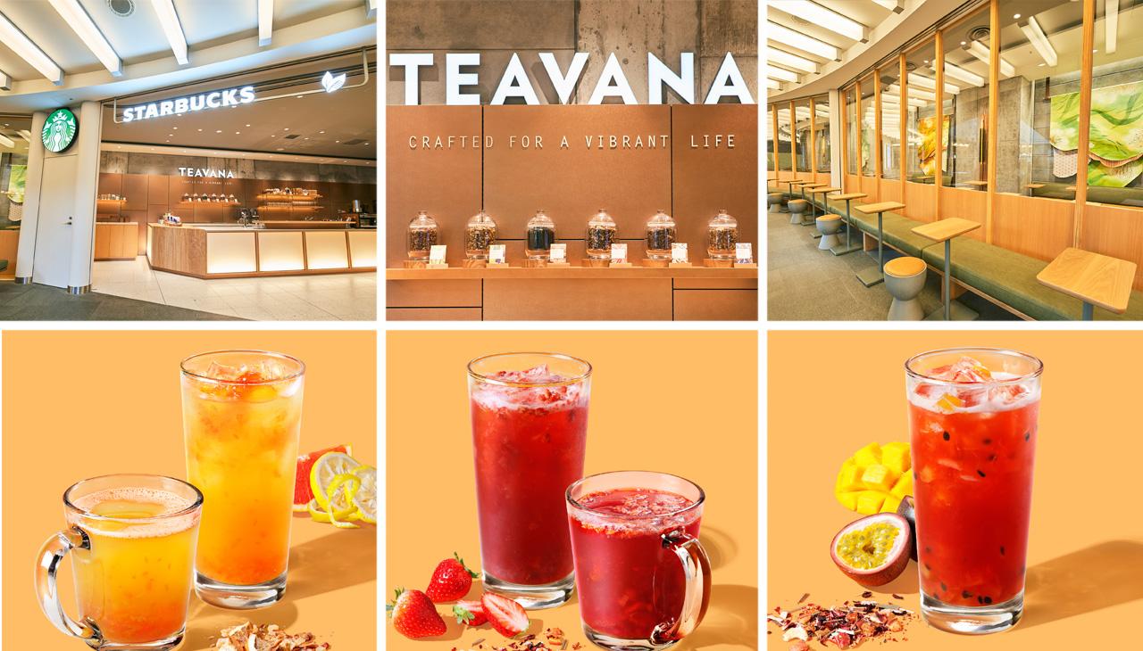 Starbucks Teavana en Roppongi, la locura del té