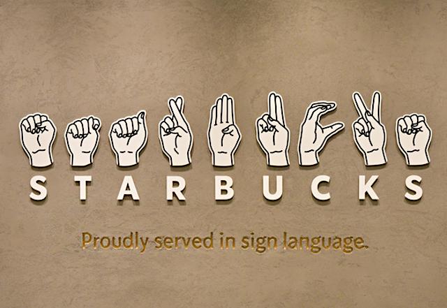 Starbucks Japón abre su primer establecimiento con lenguaje de signos