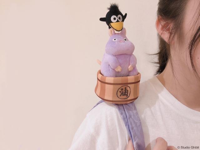 ¡Nuevos peluches de Ghibli que realmente son bolsas reutilizables, a flipar!