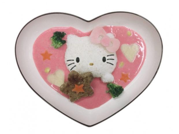curiosidades japon  ¡El aeropuerto de Narita tiene un menú especial de Hello Kitty por tiempo limtado!