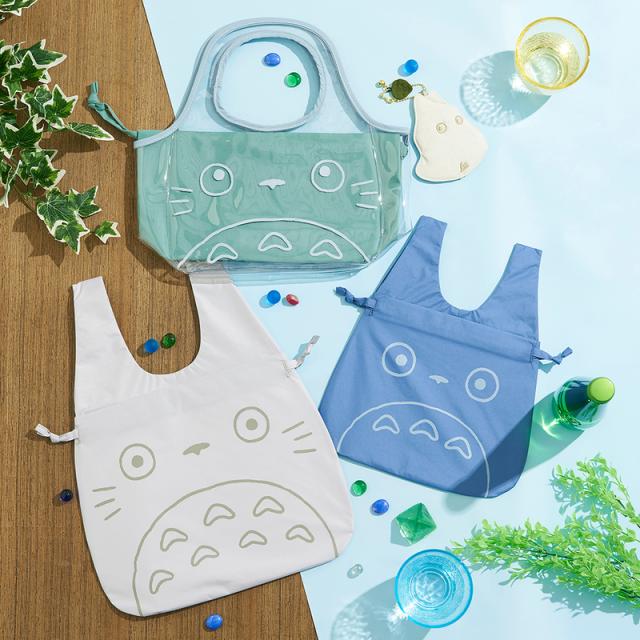 Japón prohibe las bolsas de plástico y Ghibli lanza estas reutilizables Kawaii!