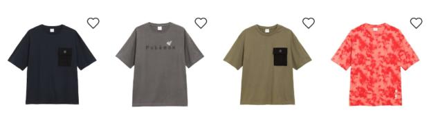 japon  Nueva colección camisetas Pokémon GU en Japón