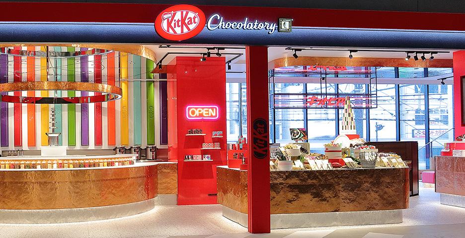 Haz tu propio Kit Kat en Shibuya KitKat Chocolatory