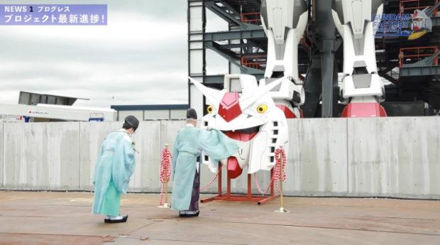 curiosidades japon  ¡El nuevo Gundam a tamaño real está listo y preparado en Yokohama!
