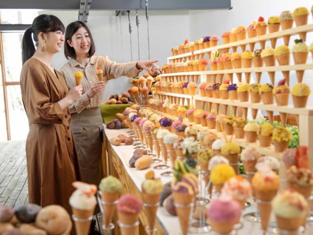 Un resort de Hokkaido ofrece un montón de helados que no lo son...