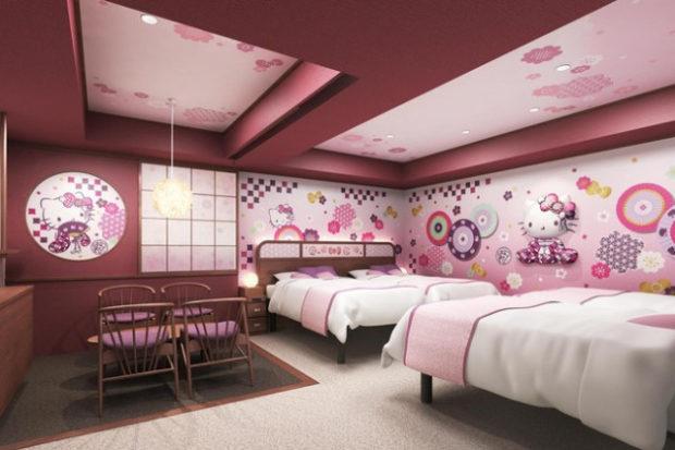 curiosidades japon  Probablemente las habitaciones de hotel más Kawaiis del mundo