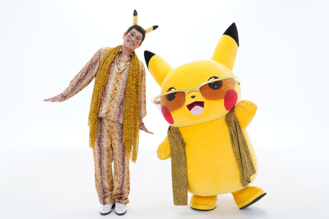 Pen-Pikachu-Apple-Pen la estrella Pokémon y Pikotaro llegan con nuevo hit!