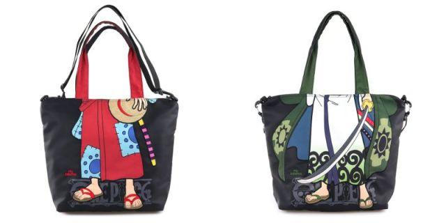 One Piece X Mis Zapatos en una colección de bolsas, bolsos y mochilas geniales!