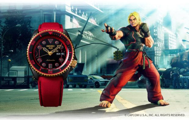 actualidad japon  Seiko lanza relojes deportivos inspirados en los personajes de Street Fighter