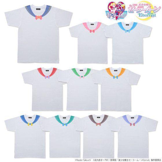 actualidad curiosidades japon  Camisetas Sailor Moon Style de la mano de Premium Bandai