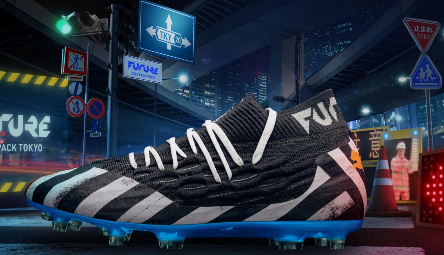 Puma lanza una edición súper exclusiva de zapatillas basadas en el Cruce de Shibuya!