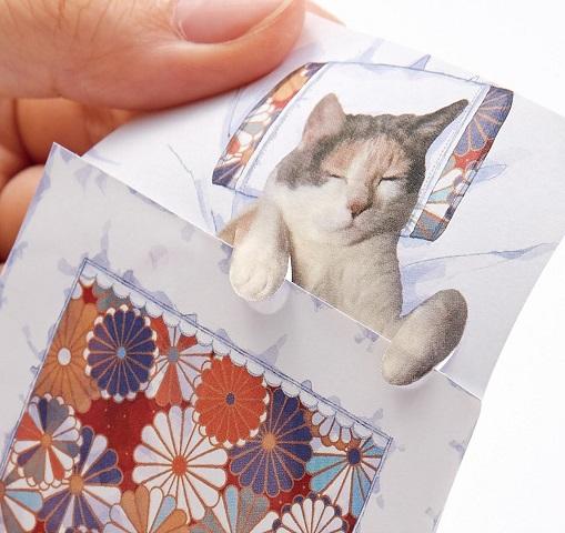 actualidad curiosidades japon  Llegan los blocs de notas-futon de nekos a Japón