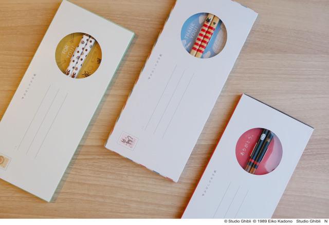 Studio Ghibli lanza las Chopstick Letters para enviar a tus seres queridos