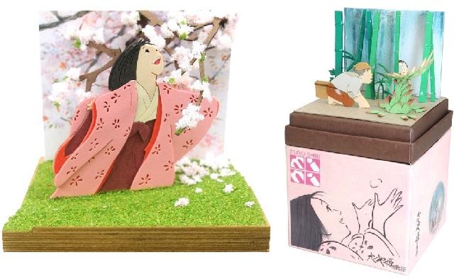Los dioramas de la Princesa Kaguya llegan para decorar tu casa con arte de Ghibli