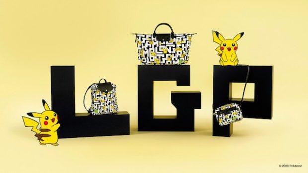 actualidad curiosidades japon  ¡Longchamp anuncia una nueva colección de Pikachu eléctrica!