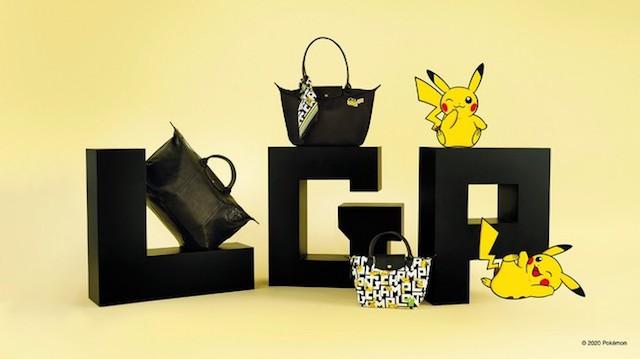 ¡Longchamp anuncia una nueva colección de Pikachu eléctrica!