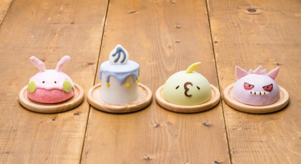 actualidad japon  Nuevos cake mousse de Gengar y Litwick en el Pokémon Cafe deliciosos y adorables