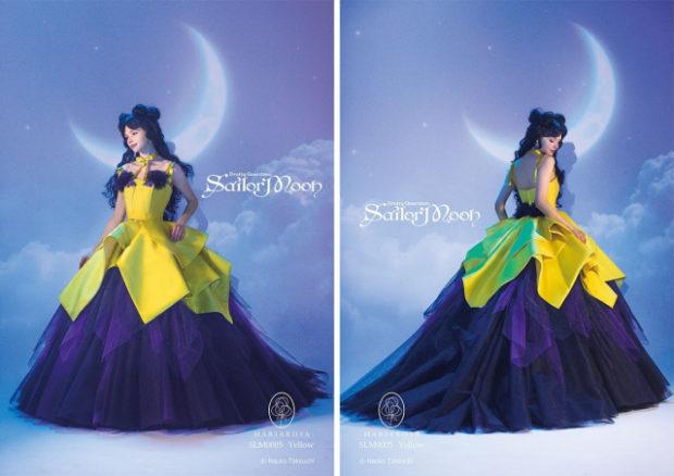 curiosidades japon  Muchas fotos de los increíbles vestidos de ceremonia y boda de Sailor Moon