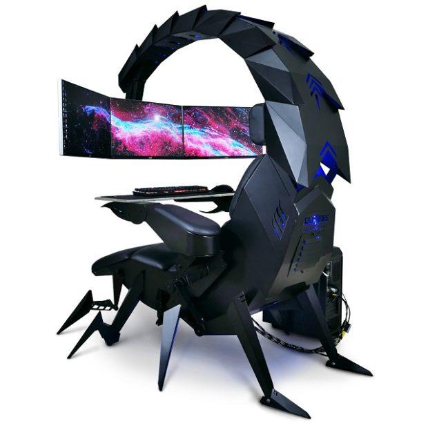 actualidad curiosidades  La silla gamer escorpión definitiva
