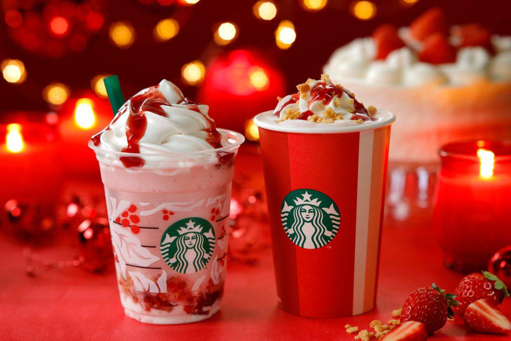 actualidad japon  ¡Starbucks Japan desvela el primer Frappuccino de Navidad de esta temporada!