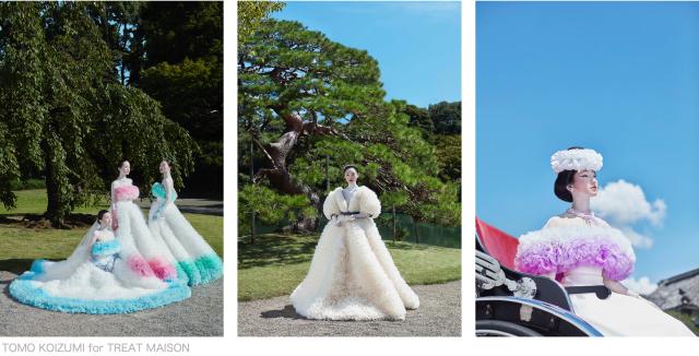 Tomo Koizumi colección de vestidos de novia muy originales
