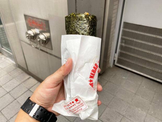 comida curiosidades japon  En Akihabara Star Kebab sushi roll