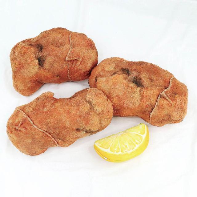 curiosidades japon  Visto en Japón! Almohadas de pollo frito con sonidos ASMR!!
