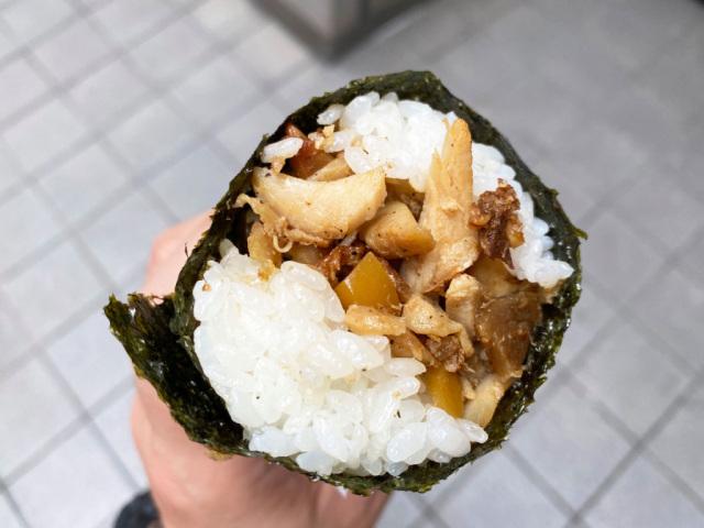 En Akihabara Star Kebab sushi roll