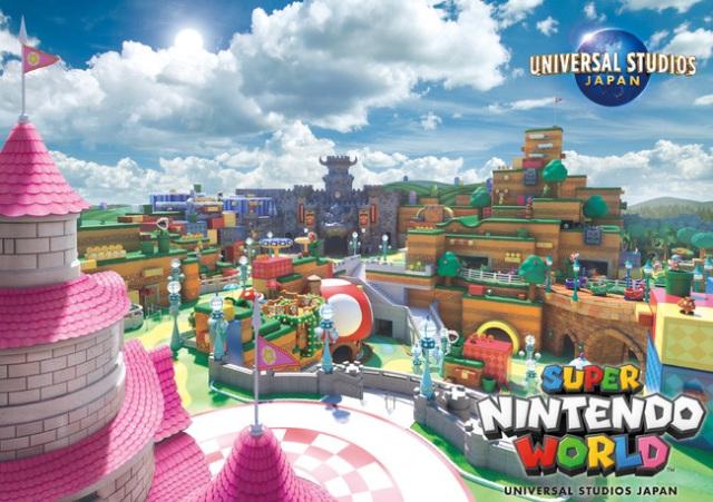 Info de apertura y preview del Universal Studios Japan's Super Nintendo World